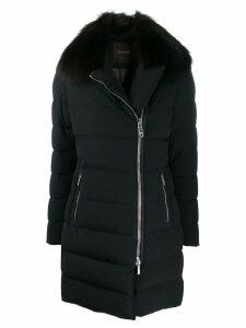 Moorer slim-fit puffer coat - Blue