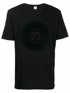 Gaelle Bonheur embroidered logo T-shirt - Black
