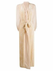 Myla De Beauvoir Sq long gown - Gold