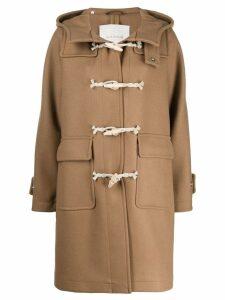 Mackintosh single breasted duffel coat - NEUTRALS