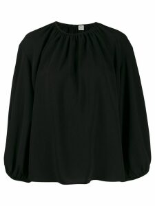 Toteme loose-fit Pomerance blouse - Black