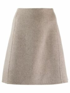 Theory welt detail a-line skirt - Neutrals