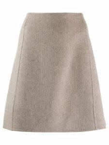 Theory welt detail a-line skirt - Neutrals