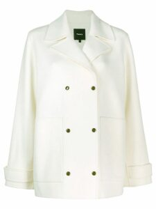 Theory short peacoat - White