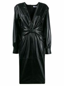 MSGM mini twist knot dress - Black