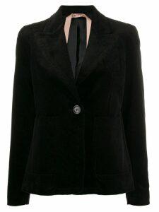 Nº21 corduroy style blazer jacket - Black