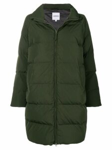 Aspesi zipped oversized padded coat - Green