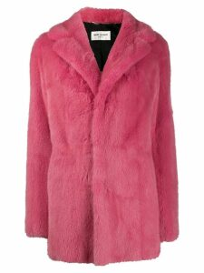 Saint Laurent mink fur coat - Pink