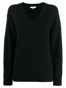 Vince oversized long-sleeve sweater - Black