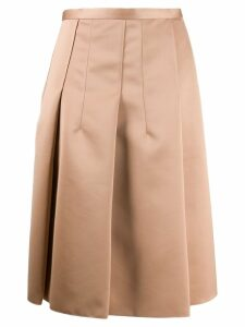 Nº21 box pleat skirt - Pink
