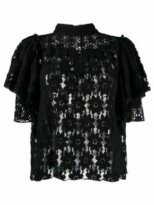 Isabel Marant Étoile Victorian lace blouse - Black