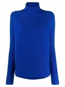 Christian Wijnants roll-neck sweater - Blue