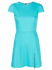 Alice+Olivia fitted mini dress - Blue