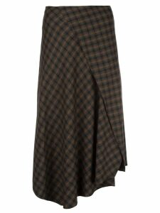 Vince plaid skirth - Brown