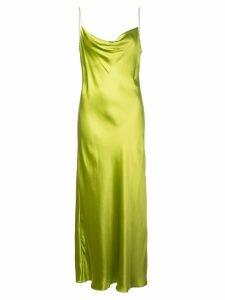 Cinq A Sept solid Marta slip dress - Green