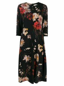 L'Autre Chose floral print dress - Black