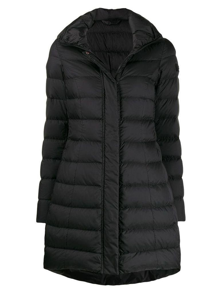 Peuterey long sleeve padded coat - Black