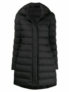 Peuterey long sleeve padded coat - Black