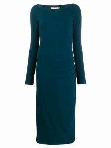 Le Petite Robe Di Chiara Boni ruched waist dress - Blue