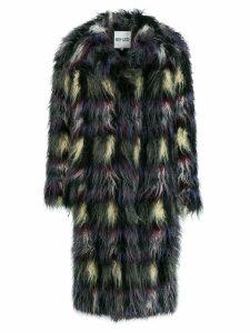 Kenzo fuzzy faux fur coat - Grey