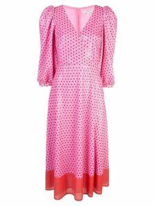 Olivia Rubin polka dot dress - Pink