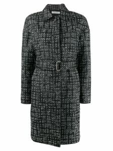 Philosophy Di Lorenzo Serafini check pattern single breasted coat -