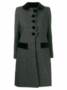 Marc Jacobs Peter Pan collar coat - Grey