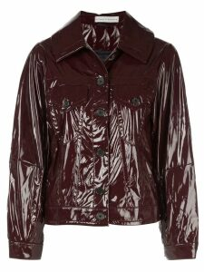 Palmer / Harding Blended patent jacket - Red