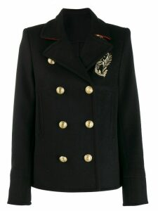 Paco Rabanne double-breasted jacket - Black