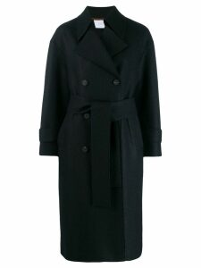 Harris Wharf London double-breasted trench coat - Blue