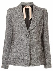 Nº21 Chevron knit blazer - Grey