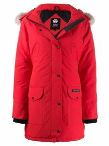Canada Goose Trillium parka coat - Red