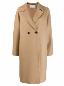 Harris Wharf London double-breasted buttoned coat - Neutrals