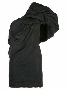 Givenchy one shoulder ruffled dress - Black