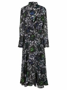 Dorothee Schumacher layered midi dress - Blue