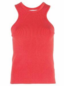 Cushnie slim-fit tank top - Red