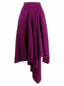 Chalayan asymmetric style skirt - PURPLE