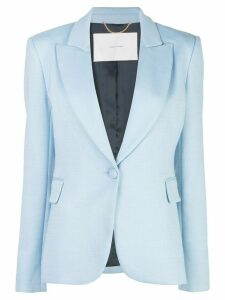 Adam Lippes slim-fit blazer - Blue