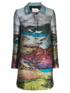 Mary Katrantzou Stephania coat - Blue