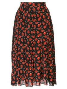 Nº21 lollipop print skirt - Black