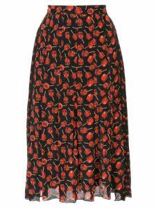 Nº21 lollipop print skirt - Black