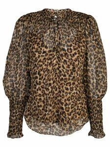 Veronica Beard Jaz blouse - Brown