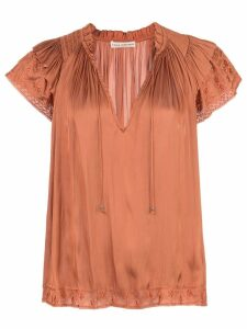 Ulla Johnson floral embroidered T-shirt