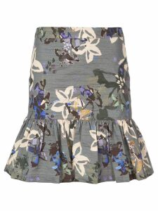 Nicole Miller Autumn Dream skirt - Blue