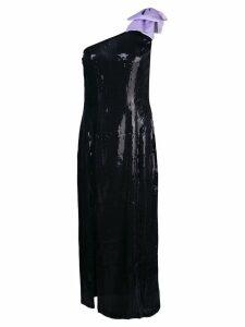 Olivia Rubin one shoulder cocktail dress - Black