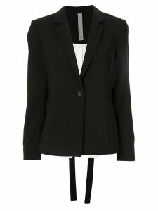 Symetria Interface two-tone blazer - Black
