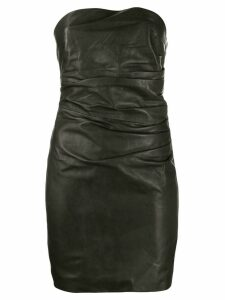 P.A.R.O.S.H. ruched detail dress - Black