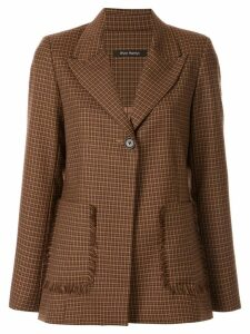 Wynn Hamlyn Etch Blazer - Brown