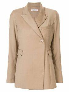 Wynn Hamlyn Partner double breasted blazer - Brown