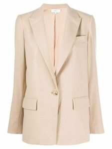 Vince single breasted blazer - Neutrals